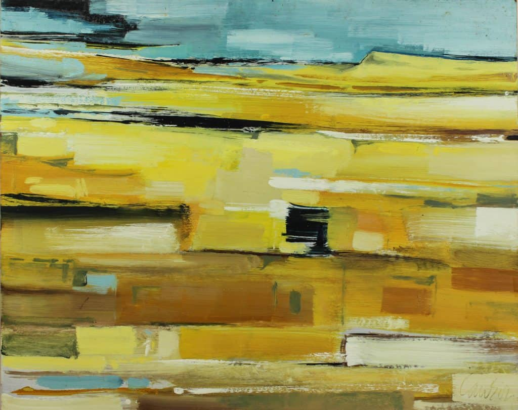 Abstract Yellow - Kenneth Lawson