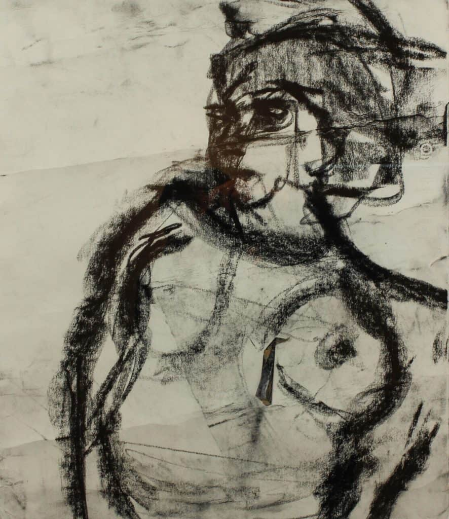 Nat Nude Charcoal - Richard Fitton