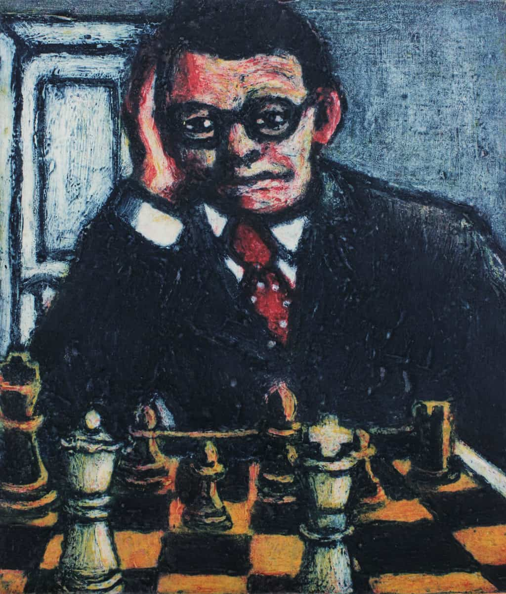 Chess Portrait - Shirley Fletcher