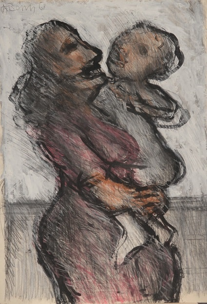 Woman with Child - Arthur Berry