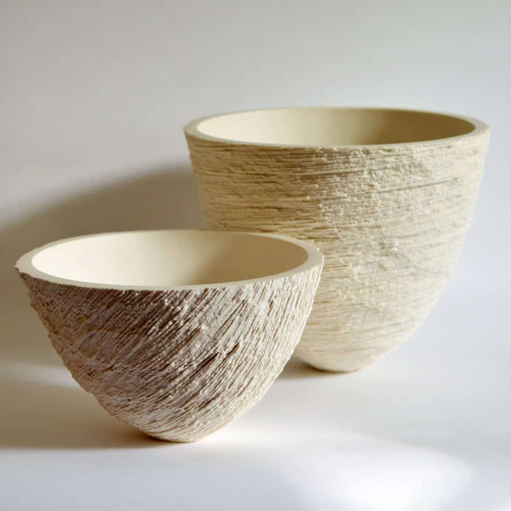 Carved Parian Bowls - Lanty Ball