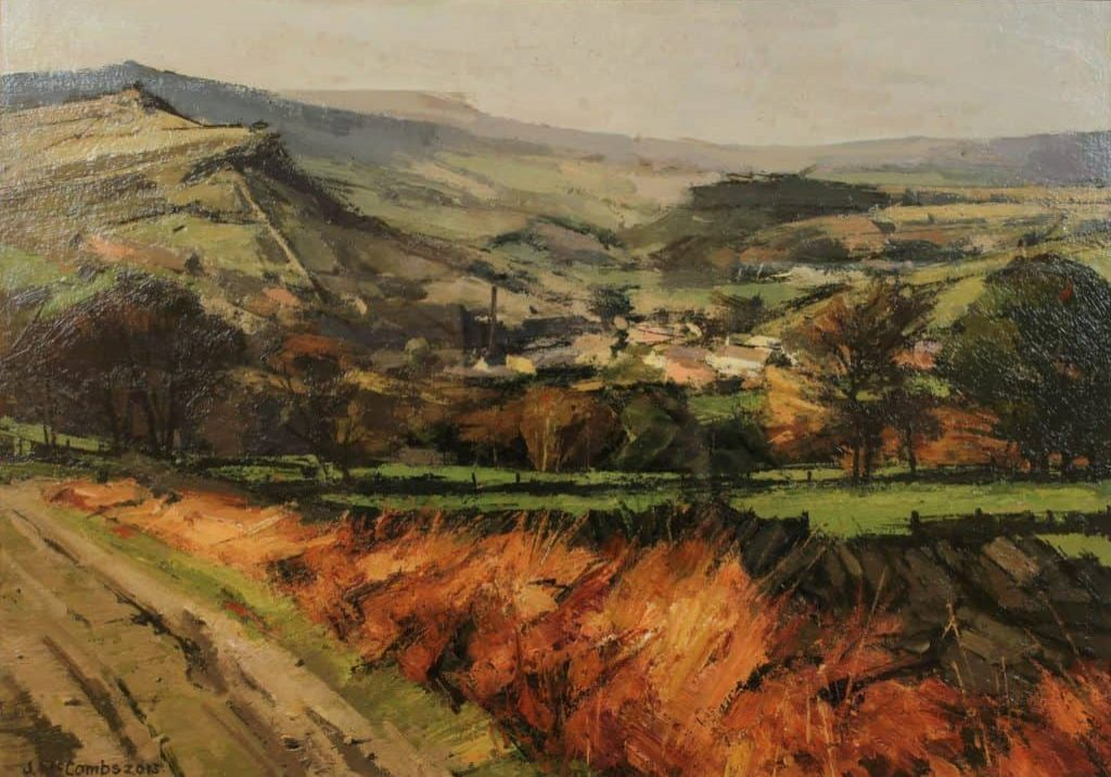 View Overlooking Delph - John McCombs